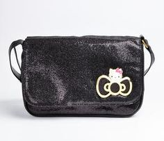 Hello Kitty Shoulder Pouch: Glitter