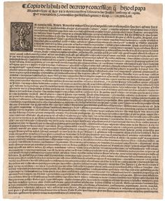Pope Alexander VI's Demarcation Bull, May (Gilder Lehrman Collection) Doctrine of Discovery Papal Bull, Cesare Borgia, John Marshall, The Borgias, Be Exalted, Christian Religions, True Faith, Historical Artifacts
