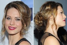 Lyndsy Fonseca's Lovely Updo - Do It Yourself - How to Get Hollywood's Best Hairstyles at Home - StyleBistro