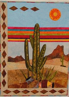 Applique quilting designs fun 47 Ideas for 2019 Quilting Projects, Quilting Designs, Quilting Ideas, Sewing Projects, Quilting Tutorials, Art Quilting, Sewing Ideas, Southwestern Quilts, Southwestern Style