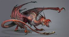 Moster bird dragon by Devon Cady-Lee