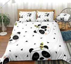 Cute Panda Bedding Set