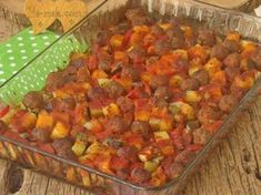 Fırında Sebzeli Köfte Resimli Tarifi - Yemek Tarifleri