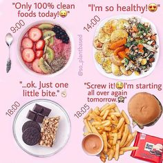 "Striving for the perfect diet? ••• There are many people out there who want a ""perfect"" diet. Only 100% ""clean"" and no ""unclean"" foods. I know, they have good intentions! They want to eat..."