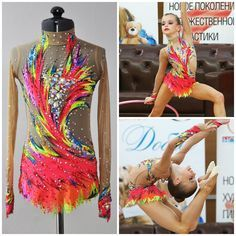 leotard for rhythmic gymnastics by lana_leotards