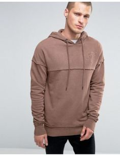siksilk-hoodie-with-raw-edges by siksilk  #dress #fashion #trends #onlineshopping #shoptagr