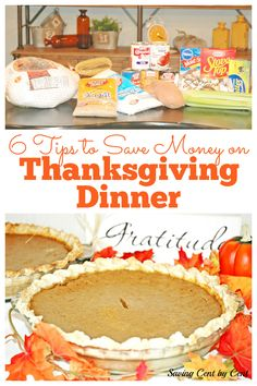 Thanksgiving is the time to enjoy family and lots of food, but you don't want to overspend on your grocery budget just to have a nice dinner. Here are some tips to enjoy a Thanksgiving dinner without the cost of a huge grocery bill. // Thanksgiving dinner on a budget // Thanksgiving budget meal // Thanksgiving on a budget // How to do Thanksgiving on a budget // #thanksgivingbudget Money Tips, Money Saving Tips, Living On A Budget, Frugal Living, Nice Dinner, Dinner On A Budget, Budgeting Money, Budget Meals, Easy Meals