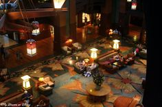 Another shot of the Grand Californian Great Hall