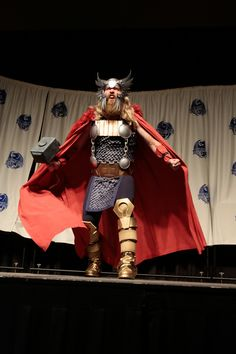 Comic Book Thor costume at DRAGON*CON 2013