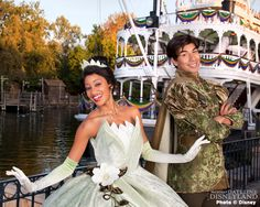 Disney Princess and the Frog characters