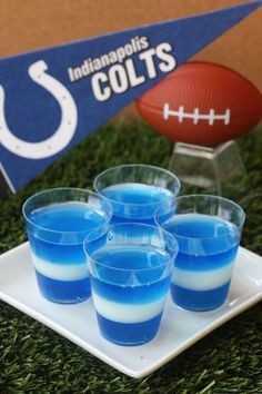 Best Indianapolis Colts Jell-O Shots Recipe-How to Make Indianapolis Colts Jell-O Shots-Delish.com