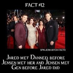 They met each other's future wives before they themselves did Jared Jensen