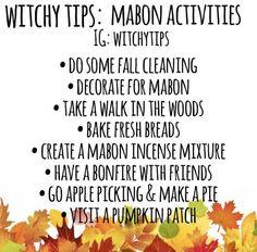 Mabon activities