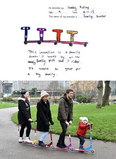 Family Scooter      Are you cognizant of your kid's capability to make spick-and-span things? ...