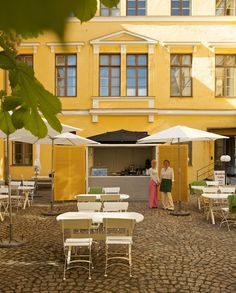 Helsinki Summer cafe #senaatintori