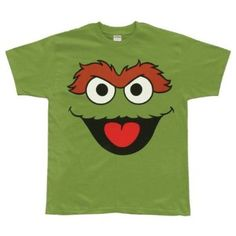 Oscar the Grouch tee....we should all wear these! LOL