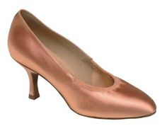 Beautiful clean line court shoe with elastic around the foot opening. http://www.amazon.com/dp/B000ZK6EG4/?tag=icypnt-20