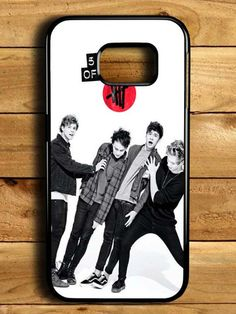 5sos 5 Second Of Summer Samsung Galaxy S6 Edge Case