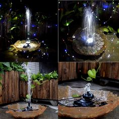 United Latitop 1.8w Solar Fountain Free Standing Floating A Great Variety Of Goods Submersible Water Pump..