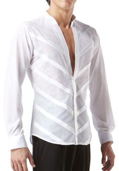 Stylish Mens Outfits, Stylish Shirts, Mens Designer Shirts, Designer Clothes For Men, Dance Outfits, Dance Dresses, Contemporary Dance Costumes, Ballroom Costumes, Dance Shirts