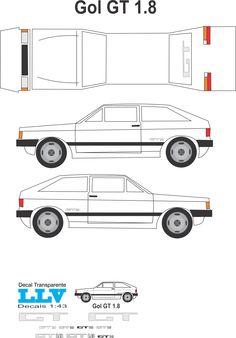 Paper Model Car, Paper Car, Paper Models, Print Paper, 3d Puzzles, Go Kart, Bambi, Volkswagen, Floor Plans