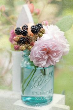 love the blackberry as part of bouquet.