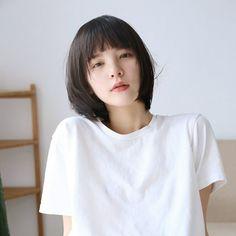 Tịnh Đế Asian Short Hair, Girl Short Hair, Short Hair Cuts, Short Girls, Shot Hair Styles, Cute Girl Face, Grunge Hair, Hair Photo, Dream Hair