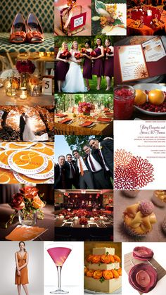 cranberry_burgundy_orange_pumpkin_fall_wedding_color_inspiration_board