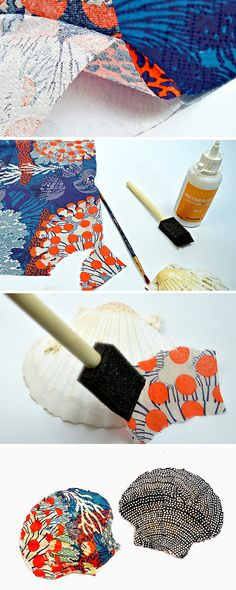 How to  Make a DIY Ring Holder From a Scallop Shell