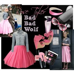 """""""Rose Tyler (Doctor Who)"""" by carelessgreen on Polyvore"""