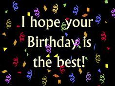 Top Happy Birthday Wishes Gif Images - Birthday Gif Short Birthday Wishes, Birthday Wishes For Sister, Best Birthday Quotes, Happy Birthday Brother, Happy Belated Birthday, Birthday Gifs, Birthday Cards, Birthday Music, Happy Brithday