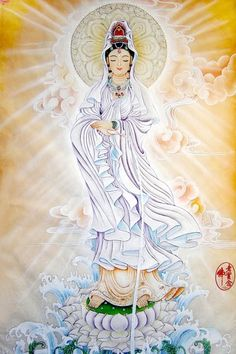 Kuan Yin, beloved goddess of over a billion people the world over. Her name too signifies her compassionate nature, literally meaning 'One who hears the cries of the world.' WILD WOMAN SISTERHOOD ™ #WildWomanSisterhood #kuanyin #divine #kuanyinassociation #goddessofmercy #wildwomanmedicine