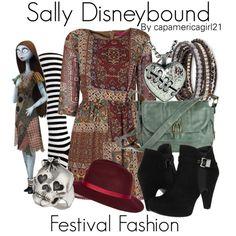 Sally Disneybound by capamericagirl21