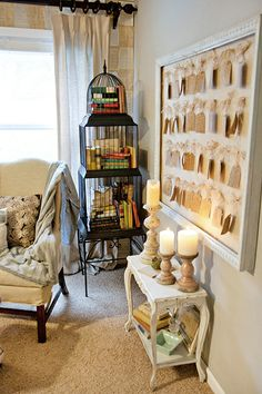 bird cage/book cage