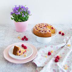 Nejjednodušší malinovo-zázvorový koláč/Raspberry and Ginger Coffee Cake
