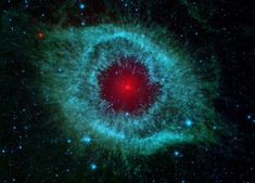 Dust and the Helix Nebula  (the eye of space...)