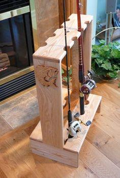 Make a rod holder