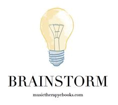 *FREE* Brainstorming Worksheet | Looking for some inspiration? Have an idea for an e-book, but you don't know where to start?  Download our free fill-able .pdf form and get started with the brainstorming process!  Our field could benefit from YOUR ideas!! Private Practice, Music Therapy, Book Authors, Your Story, Worksheets, Benefit, Fill, Ebooks, Pdf