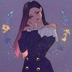 Cartoon Kunst, Cartoon Art, Kpop Fanart, Kawaii Anime Girl, Anime Art Girl, Aesthetic Art, Aesthetic Anime, Fan Art, Kpop Drawings