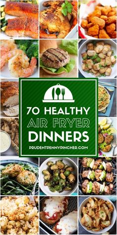 70 Healthy Air Fryer Recipes is part of Air fryer healthy - Make a fresh and quick dinner with these healthy air fryer recipes From air fried salmon to crispy tofu, there are plenty of healthy dinner options Air Fryer Dinner Recipes, Air Fryer Oven Recipes, Air Fry Recipes, Healthy Recipes, Healthy Appetizers, Recipes Dinner, Keto Recipes, Easy Recipes, Air Fryer Recipes Vegetables
