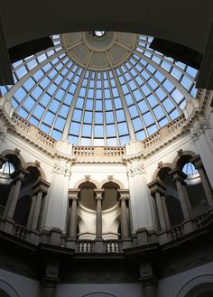 Domed Octagonal Hall: Tate Gallery I love the Tate. Tate London, Old London, Portland Stone, Dome Ceiling, Tate Gallery, Tate Britain, National Art, London Places, Corinthian