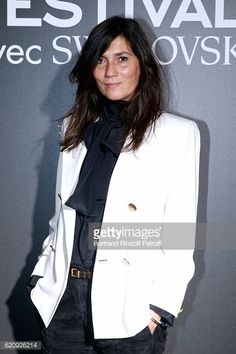 Chief Editor of Vogue Paris Emmanuelle Alt attends the Vogue Fashion Festival at Hotel Potocki on November 3 2016 in Paris France