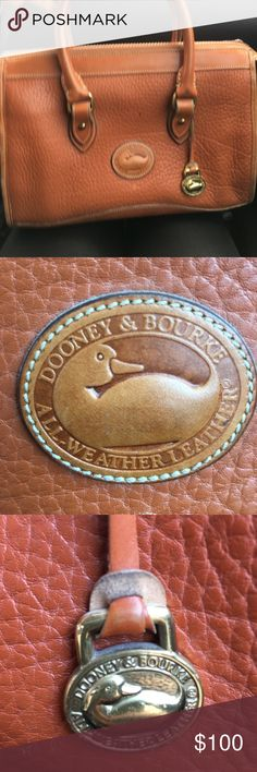 Dooney & Bourke Vintage Bag Preloved. Beautiful light brown bag. Buy this and get the Dooney & Bourke lemonade keychain in my closet for free. Price is firm. Thank you. Dooney & Bourke Bags Shoulder Bags