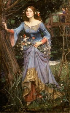 'Ophelia' by John William Waterhouse.