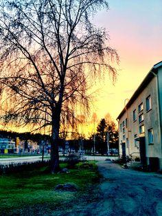 Sunset @ Mäkimatti  iPhone 4S, Camera+