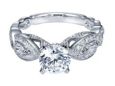Love the band of this diamond ring