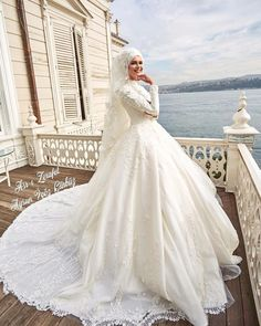 Hijab Wedding: İPEKModel Asr-ı Elegance Being a Bride is a Privilege . Hijab Wedding: İPEKModel Asr-ı Elegance Being a Bride is a Privilege Wedding Dress Asr-ı Z … Wedding Hijab Styles, Pakistani Wedding Dresses, Bridal Dresses, Bridesmaid Dresses, Arabic Wedding Dresses, Muslim Wedding Gown, Wedding Gowns, Wedding Cakes, Bridal Hijab