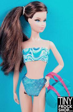 Barbie Wave A Licious Swim Set - Tiny Frock Shop