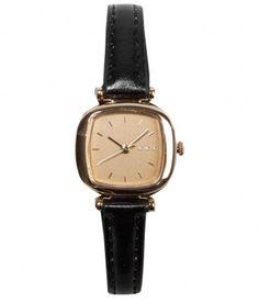 Komono - Moneypenny Watch (Gold Black) - $60