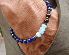 Men's Spiritual Protection Fortune Energy by tocijewelry on Etsy